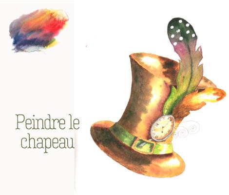 Peindre le chapeau